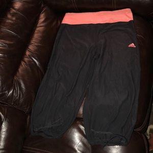 Adidas Climalite women's size medium capris!
